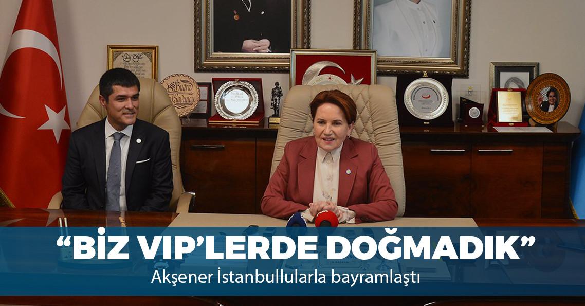 """Akşener: """"İstanbul seçimlerini Millet İttifakı'nın adayı Ekrem İmamoğlu alacak"""""""