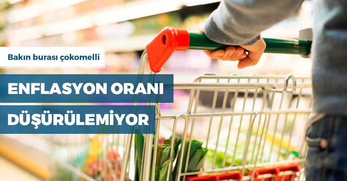 Mayıs ayında enflasyon aylık bazda yüzde 0.95 arttı