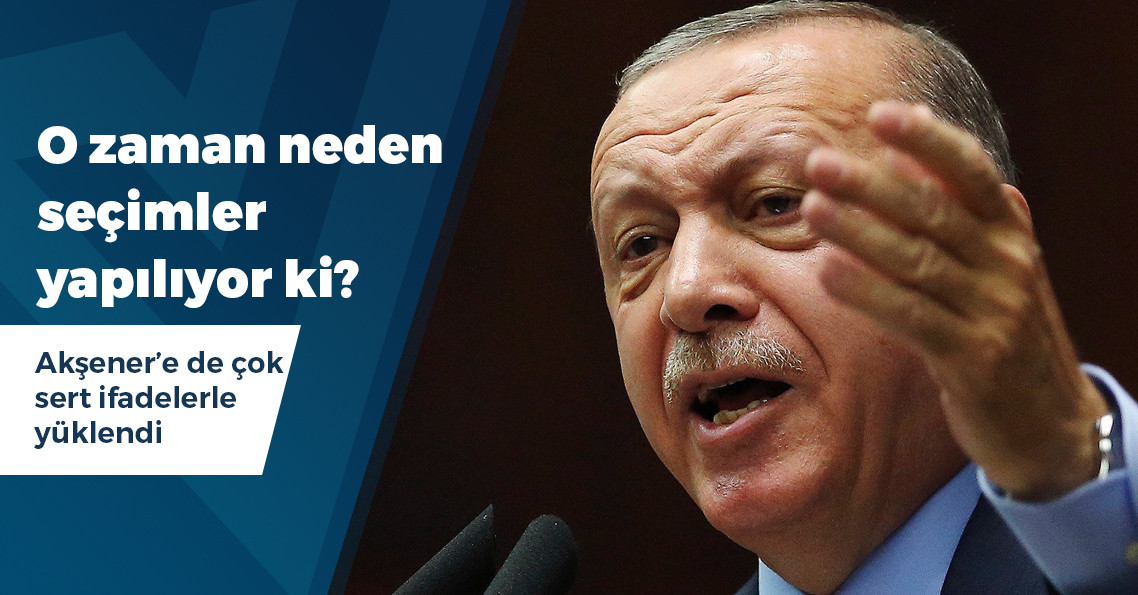 """Erdoğan: """"Benzer şeyler yaşanırsa işi anında yargıya götürür, kayyımlar için yolu açarız"""""""