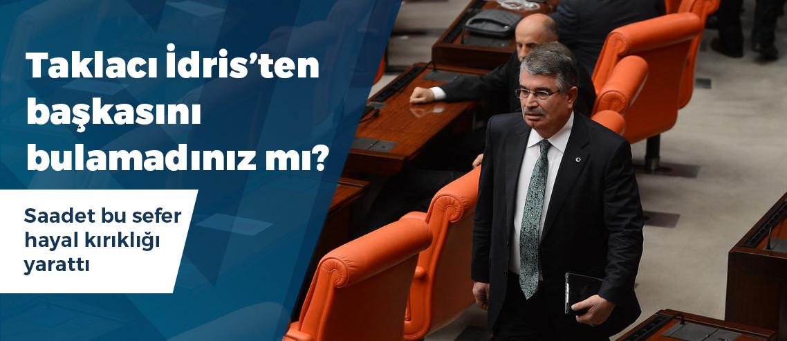 "Saadet Partisi Ordu'da ""Taklacı"" Şahin'i aday gösterdi"