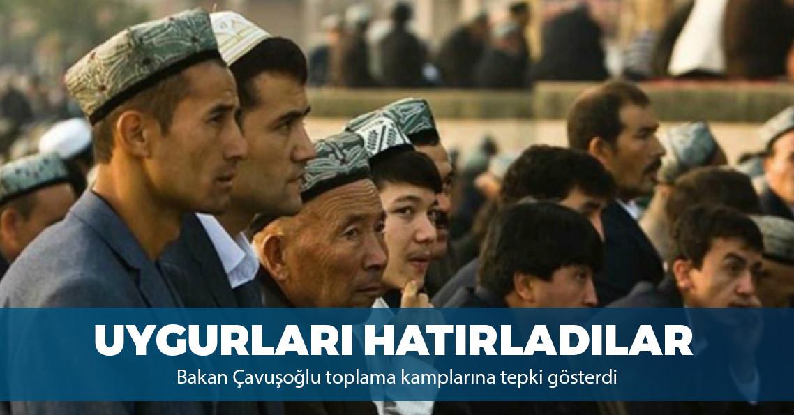 """Çavuşoğlu: """"Uygur Türkleri siyasi baskı ve işkence görüyor"""""""