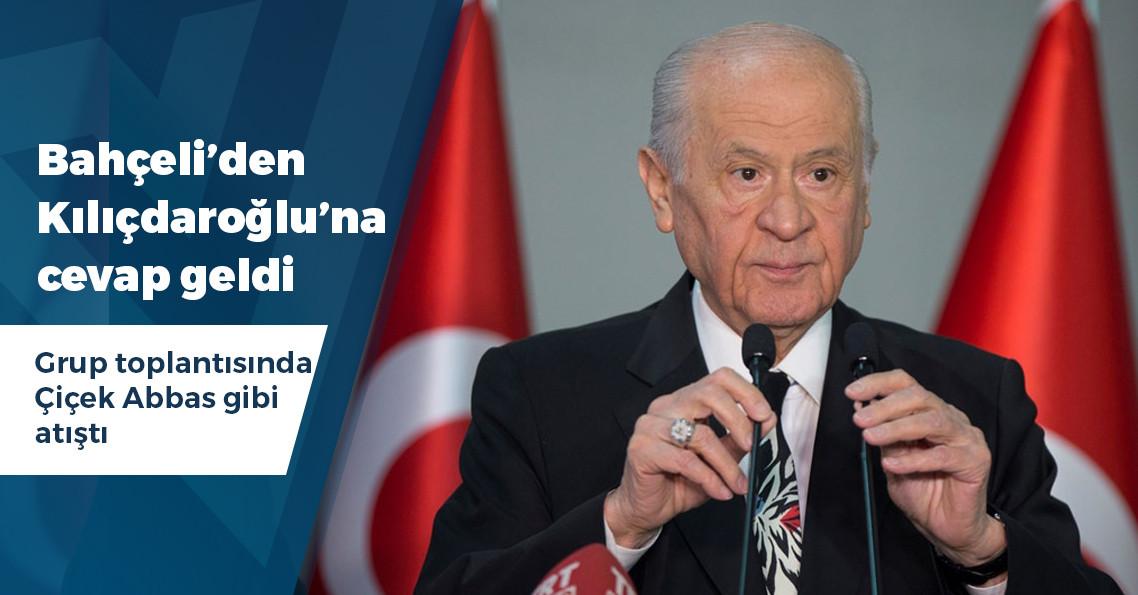 """Bahçeli'den Kılıçdaroğlu'na: """"Sevsinler senin kapağını, aferin çok güzel laf ettin..."""""""