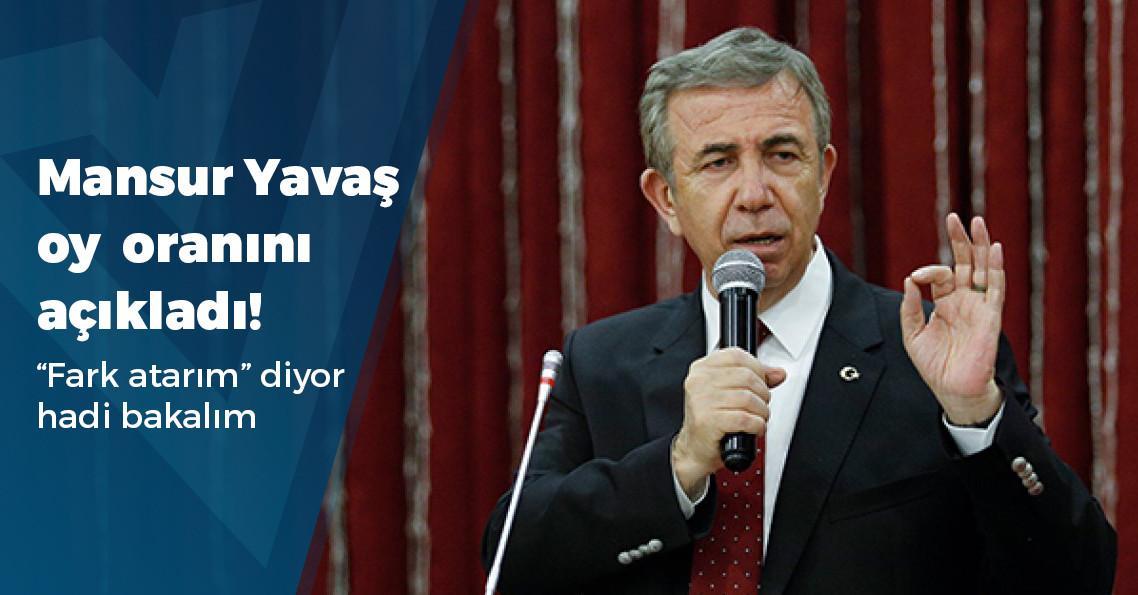 Mansur Yavaş Ankara'yı kaç puan farkla kazanacaklarını açıkladı