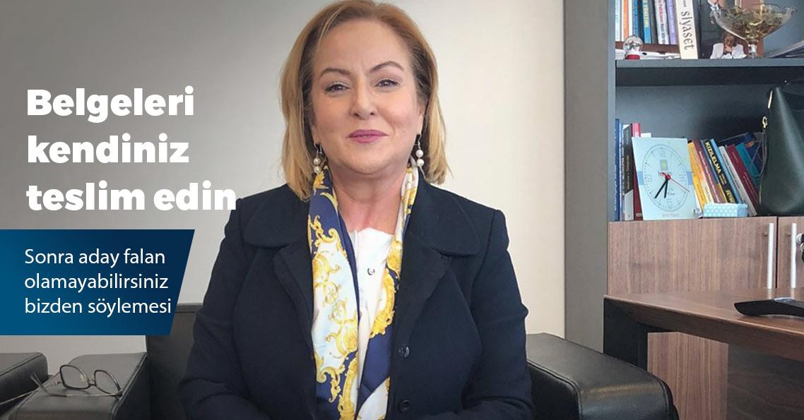 İYİ Parti'nin Mersin adayı Ayfer Yılmaz oldu