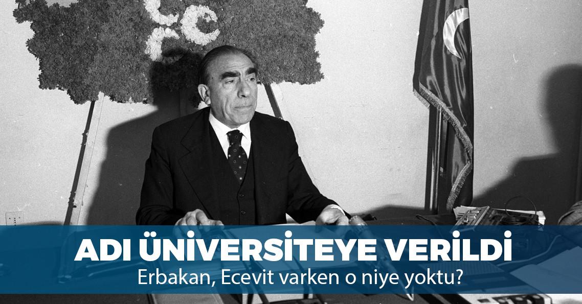 """Adana'daki o üniversitenin adı resmen """"Alparslan Türkeş"""" oldu"""