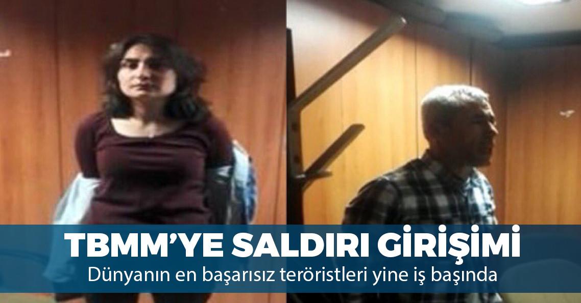 DHKP-C'li iki terörist TBMM çalışanını rehin almaya çalışırken yakalandı!