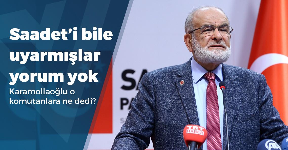 """Karamollaoğlu: """"15 Temmuz'dan yaklaşık 6 ay önce, üst rütbeli bazı komutanlar geldi"""""""