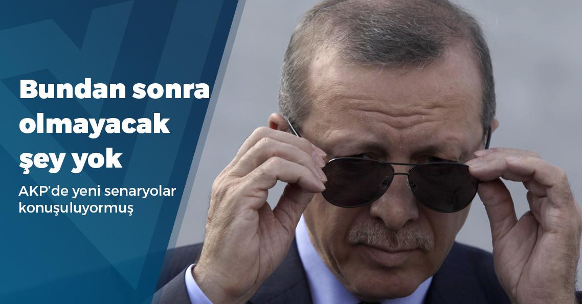 """""""Erdoğan'ın kafasında yerel seçimlerin kaldırılması konusunda henüz fikir aşamasında olan bir plan var"""""""