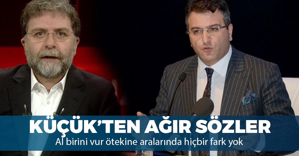 """Cem Küçük'ten Ahmet Hakan'a: """"Sahibin değişiyor ama her devir sen bir köpeksin"""""""