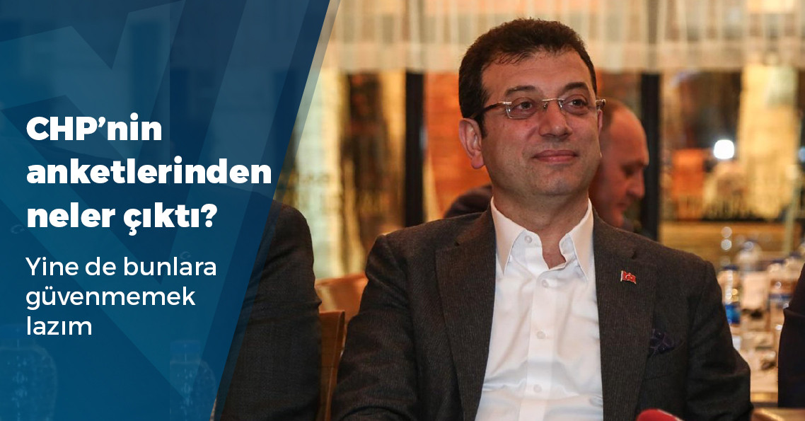 23 Haziran'la ilgili CHP'nin önüne anketler gelmeye başladı