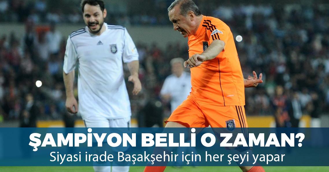 """Erdoğan: """"Başakşehir'i ben kurdum, demek ki binlerin izlediği takımlar da şampiyon olabiliyormuş"""""""