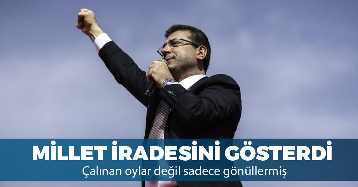 İstanbul'da seçimi Ekrem İmamoğlu kazandı