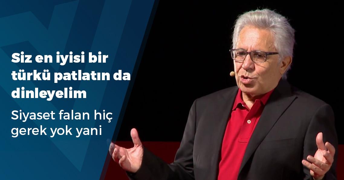 """Zülfü Livaneli: """"1 Nisan'da, AK Parti'ye güzel bir İstanbul sürprizi yapalım!"""""""