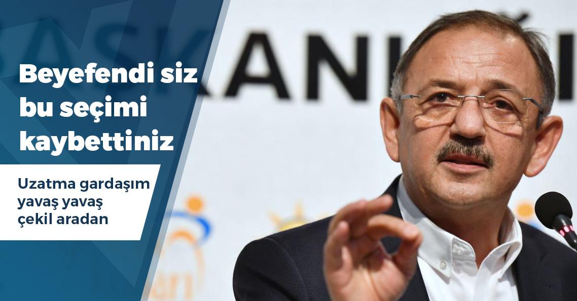 Mehmet Özhaseki'den Mansur Yavaş'a cevap