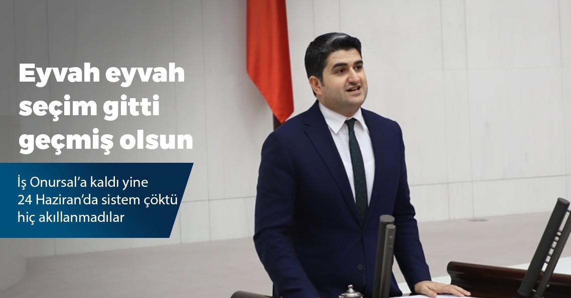"""CHP'li Adıgüzel'den seçim güvenliği açıklaması: """"Uzay teknolojisi alt yapıya ihtiyaç yok"""""""