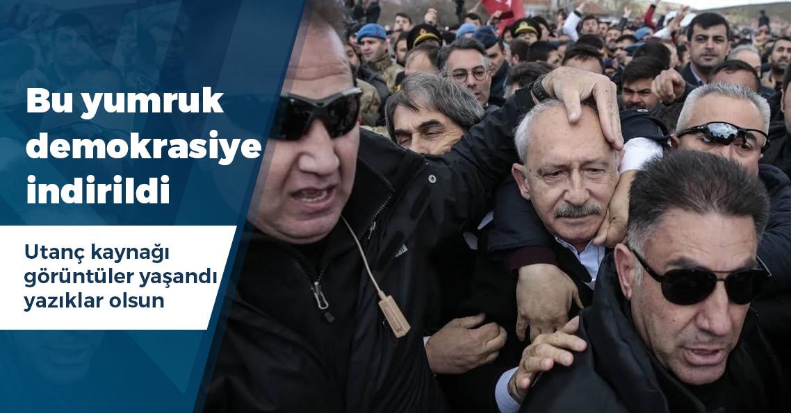 Kemal Kılıçdaroğlu'na Ankara'da linç girişimi