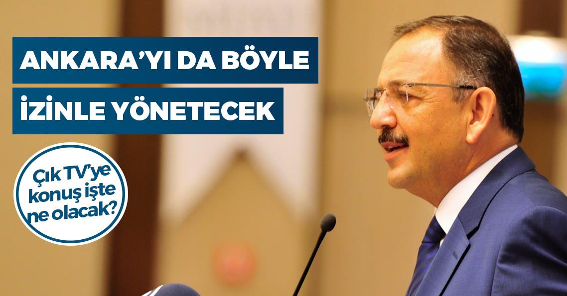 """Mehmet Özhaseki: """"Tayyip Bey izin verirse Mansur Yavaş'la televizyonda tartışmak isterim"""""""