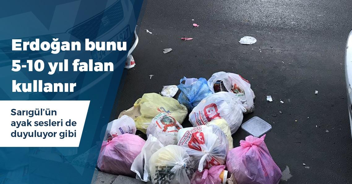 CHP'li Şişli Belediyesi maaşları ödeyemeyince işçiler çöpleri toplamayı bıraktı!