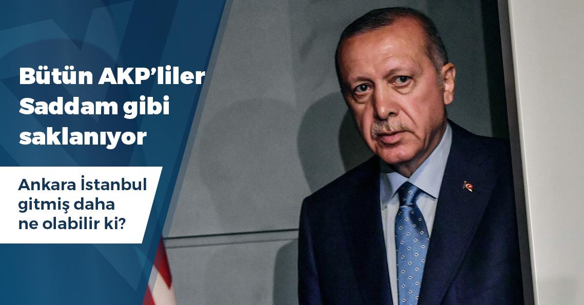 Erdoğan AKP'de ondan fazla ismi kesiyor
