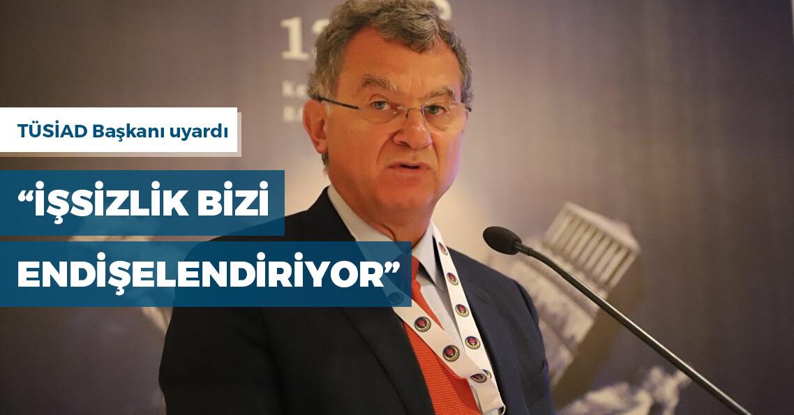 """TÜSİAD Başkanı Simone Kaslowski: """"Bahar beklerken doluya tutulduk"""""""
