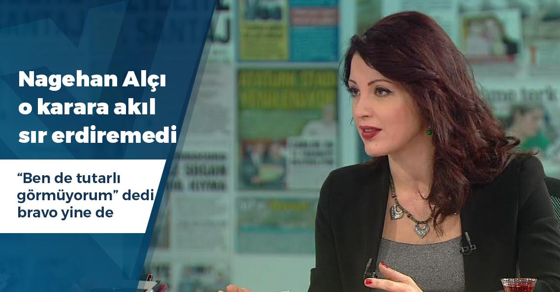 """Nagehan Alçı: """"Aynı zarfa koyarak attığımız dört oydan üçünün geçerli olup birinin iptal edilmesini ben de tutarlı görmüyorum"""""""