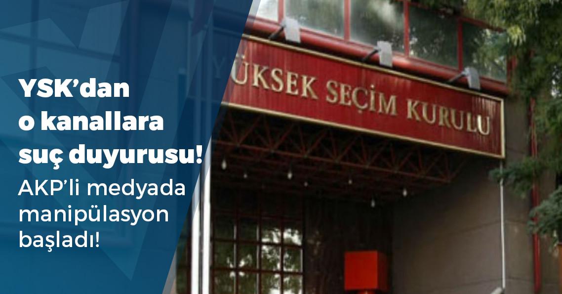 YSK'dan yasak bitmeden yayına giren TV kanallarına suç duyurusu