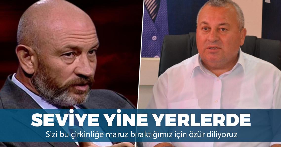 """MHP'li Enginyurt'tan Ali Türkşen'e: """"Cem Yılmaz'ın şeyini ağzına almak sana yakıştı mı?"""