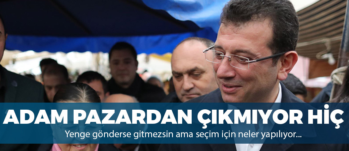 """Ekrem İmamoğlu: """"Esnafa asla 'terörist' demesinler"""""""