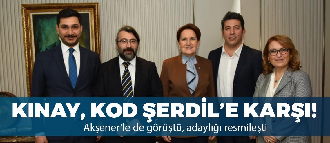 Emre Kınay İYİ Parti'den resmen aday oldu