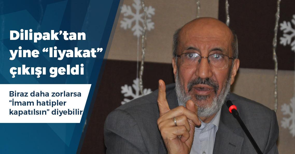 """Abdurrahman Dilipak: """"Bir işe ille de İmam Hatipli birinin gelmesi şart değil"""""""