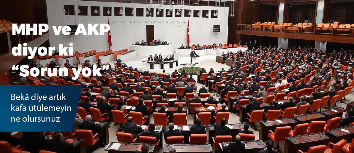 """İYİ Parti'nin """"beka"""" ile ilgili araştırma önergesi AKP ve MHP tarafından reddedildi"""