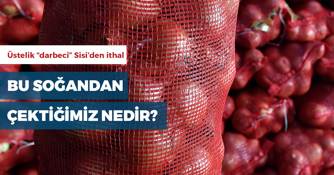 Türkiye, Mısır'dan soğan ithal edecek