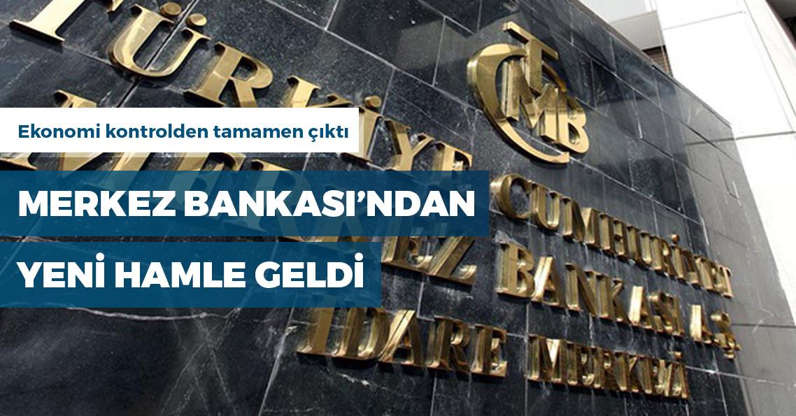 Merkez Bankası'ndan bütçe açığı hamlesi