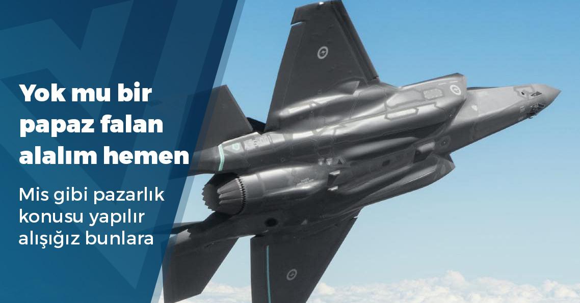"""""""ABD, F-35'lerle ilgili ekipmanların Türkiye'ye teslimini durdurdu"""""""