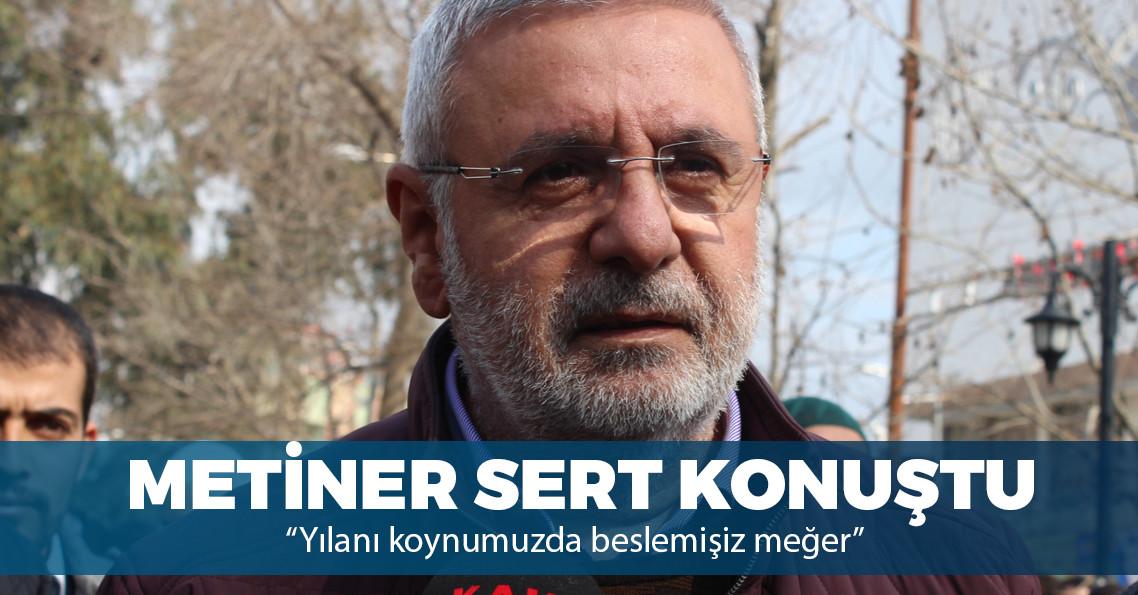 """AKP'li Metiner: """"Gül ve Davutoğlu'na FETÖ'cülerin biçtiği rol biliniyor"""""""