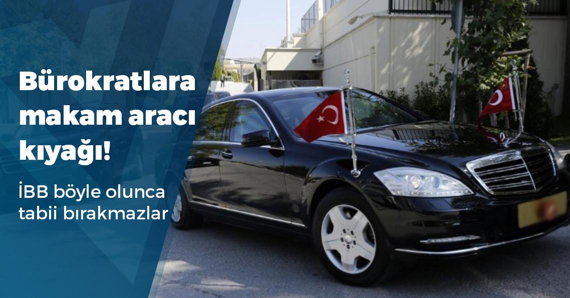 AKP döneminde İETT'nin üst düzey yetkililerine 150 makam aracı kiralanmış