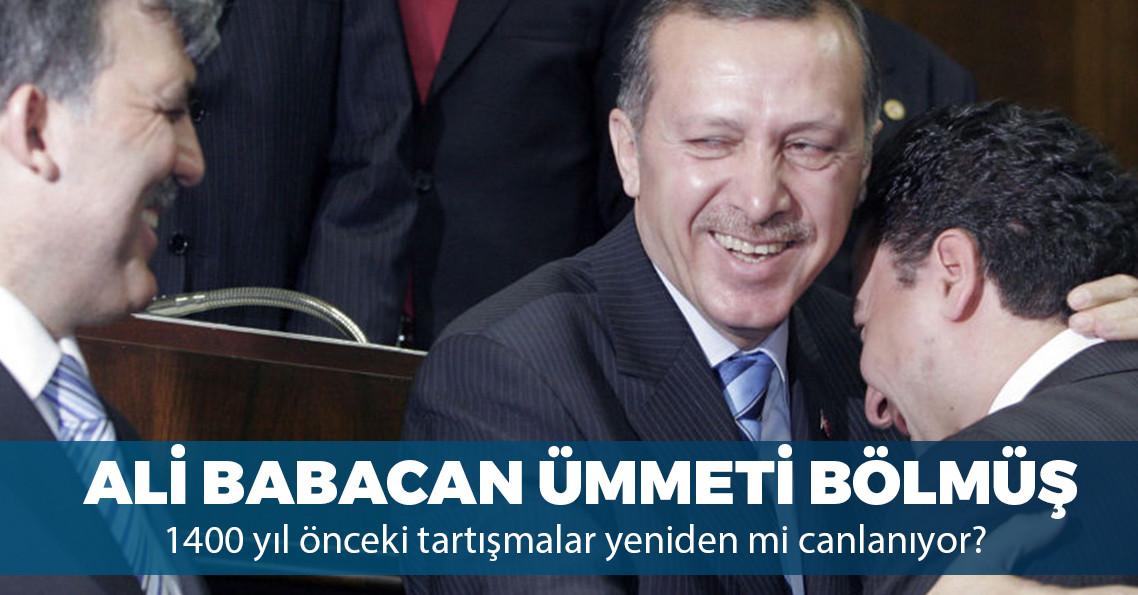 """Erdoğan'dan """"Ali Babacan"""" çıkışı: """"Bu ümmeti parçalamaya hakkınız yok"""""""