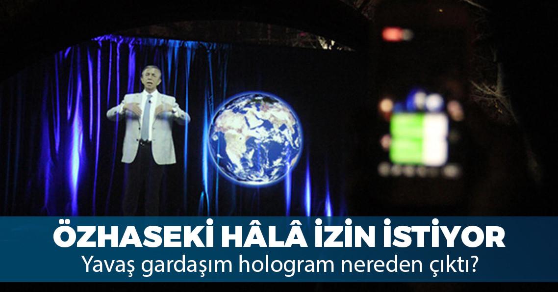 Mansur Yavaş'tan hologram miting