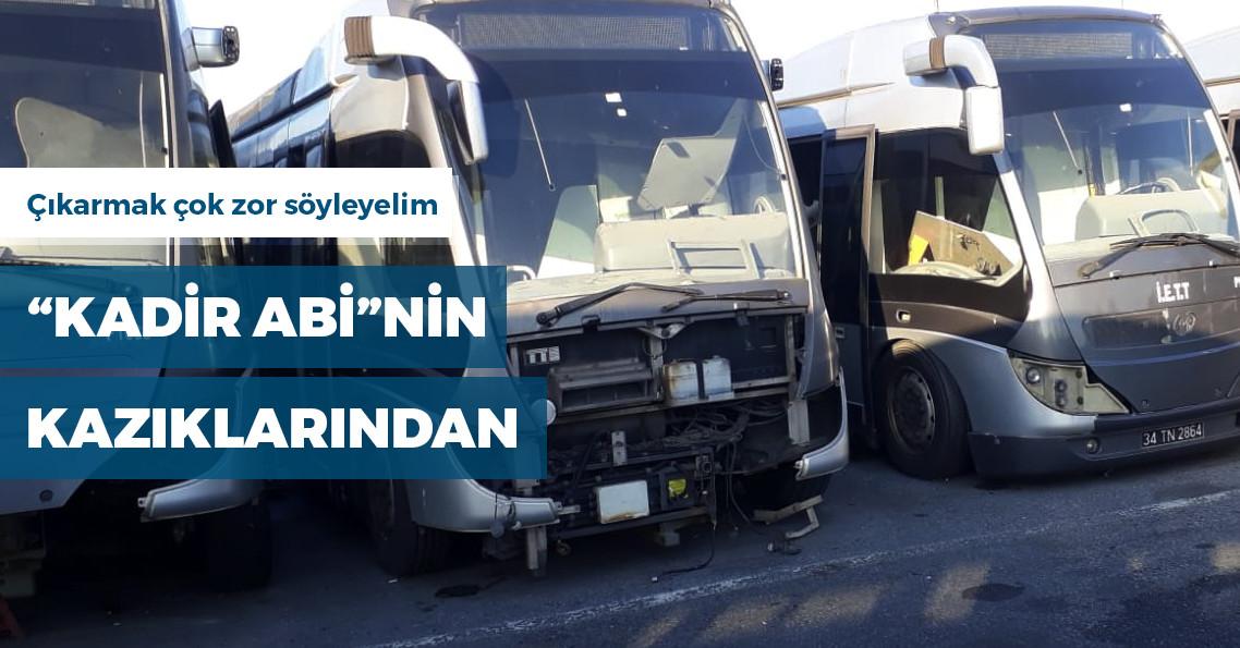 Kadir Topbaş döneminde İBB'ye alınan 50 otobüs hurdaya çıktı