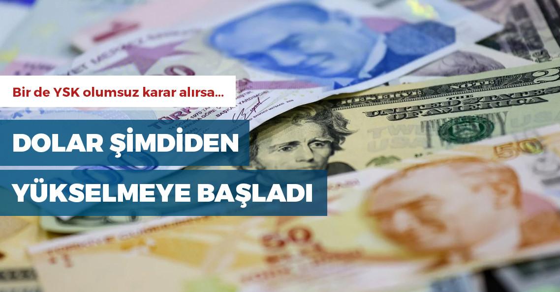 Dolar 6 lira seviyesini gördü!