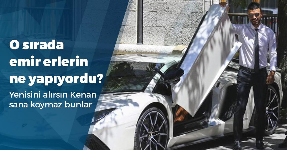 Kenan Sofuoğlu, 560 bin liralık kol saatini çaldırdı