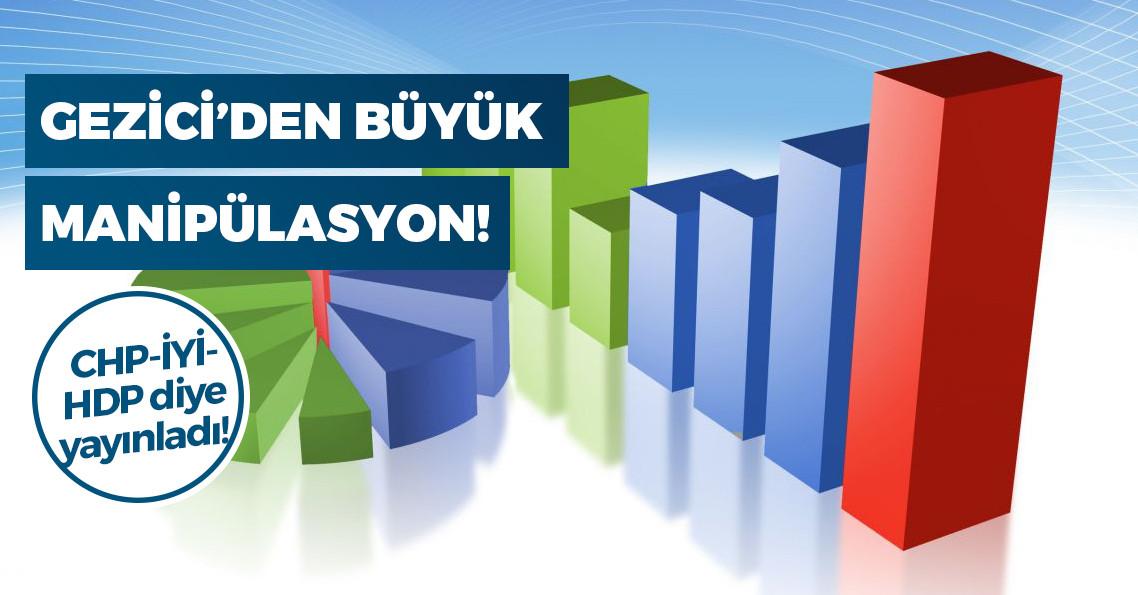Gezici Araştırma, HDP'yi de Millet İttifakı'na dahil etti