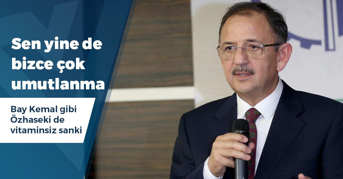 """Mehmet Özhaseki: """"Manipülasyon var, tarafsız anketlere baktığımda umutlanıyorum"""""""