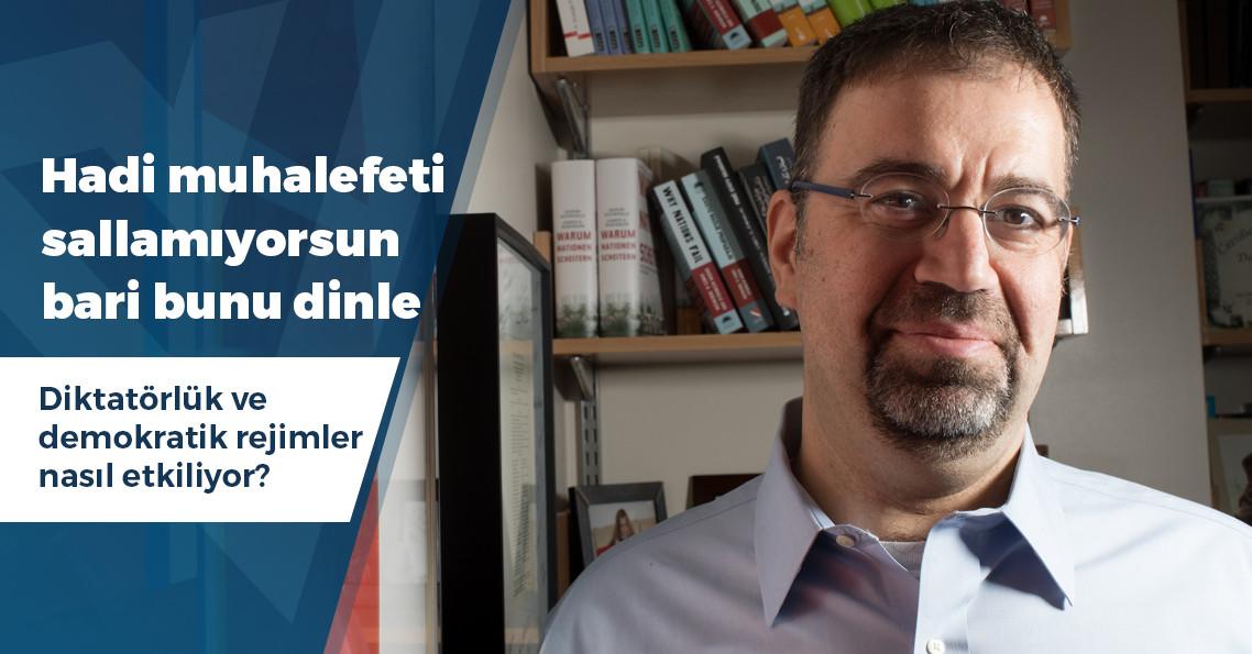"""Daron Acemoğlu: """"Türkiye'nin başka çaresi yok"""