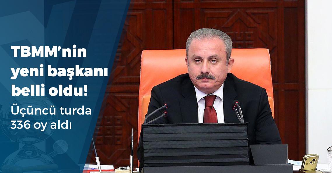 TBMM Başkanı Mustafa Şentop oldu