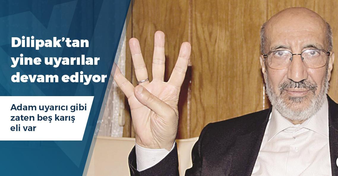 """Dilipak: """"XYZ kuşağına, bir gecede bütün Türkiye'yi sayıp, 2 ilçedeki oyları 19 gün gece gündüz çalışıp nasıl sayamadığınızı anlatamazsınız"""""""