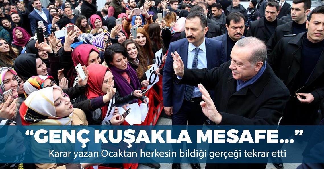 """""""AK Parti'nin yeni gençlik dalgasıyla arasındaki mesafe giderek açılıyor"""""""