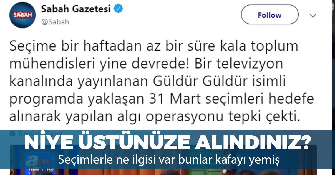 AKP medyasının hedefinde Güldür Güldür Show var!