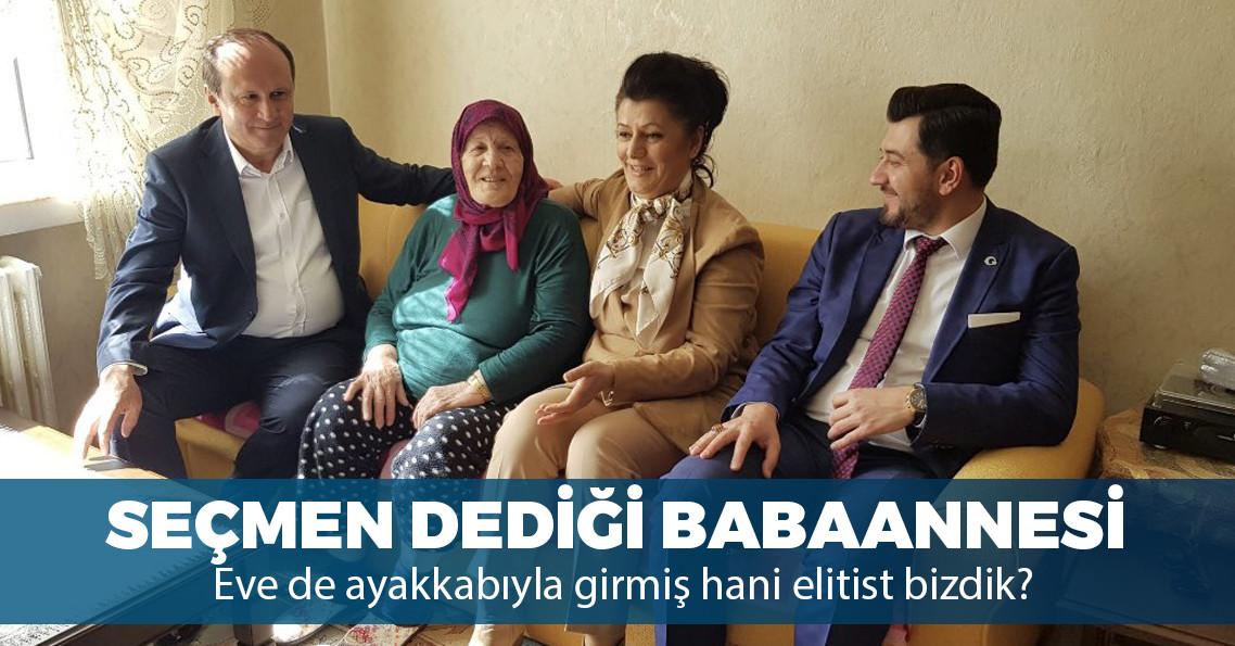 Erdoğan'ın danışmanı seçim ziyareti diye kendi evinden fotoğraf paylaştı