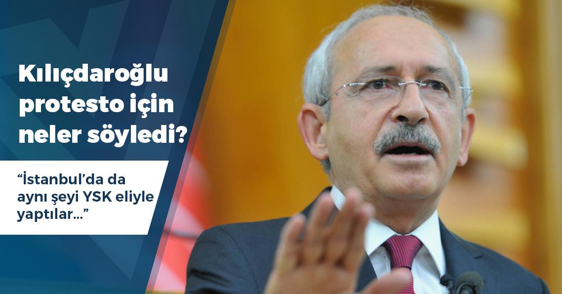 """Kılıçdaroğlu'ndan kayyımla ilgili dikkat çeken """"sokağa çıkma"""" açıklaması"""